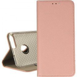 BOOK MAGNET ETUI NA TELEFON HUAWEI P SMART FIG LX1 ROSE GOLD
