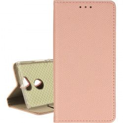 ETUI BOOK MAGNET SONY XPERIA XA2 ROSE GOLD