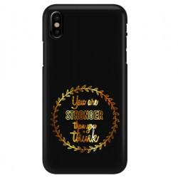 ETUI NEON GOLD IPHONE X MIENIĄCE SIĘ ZLC114