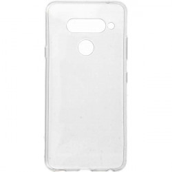 ETUI CLEAR 0.5mm NA TELEFON LG V40 TRANSPARENTNY