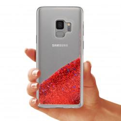 ETUI GUMA LIQUID NA TELEFON SAMSUNG GALAXY S9 G960 CZERWONY