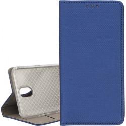 ETUI BOOK MAGNET NA TELEFON LG K30 2019 / X2 2019 GRANATOWY