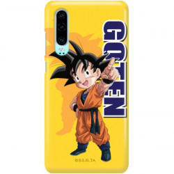 ETUI SMOOTH DRAGON BALL NA TELEFON HUAWEI P30 DBS-4