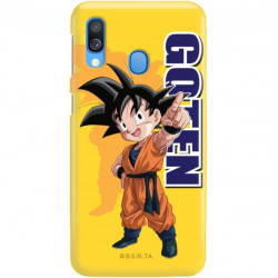 ETUI SMOOTH DRAGON BALL NA TELEFON SAMSUNG GALAXY A40 DBS-4