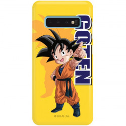 ETUI SMOOTH DRAGON BALL NA TELEFON SAMSUNG GALAXY S10 DBS-4