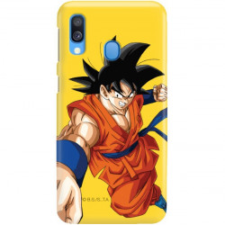 ETUI SMOOTH DRAGON BALL NA TELEFON SAMSUNG GALAXY A40 DBS-30