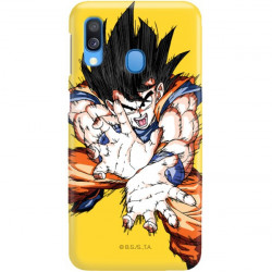 ETUI SMOOTH DRAGON BALL NA TELEFON SAMSUNG GALAXY A40 DBZ-1