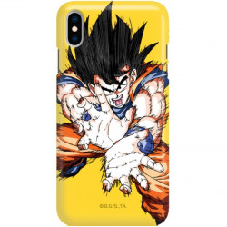 ETUI SMOOTH DRAGON BALL NA TELEFON APPLE IPHONE XS MAX DBZ-1