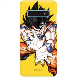 ETUI SMOOTH DRAGON BALL NA TELEFON SAMSUNG GALAXY S10 DBZ-1