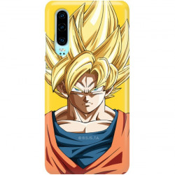 ETUI SMOOTH DRAGON BALL NA TELEFON HUAWEI P30 DBZ-14