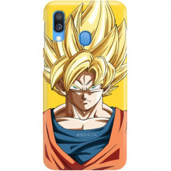 ETUI SMOOTH DRAGON BALL NA TELEFON SAMSUNG GALAXY A40 DBZ-14
