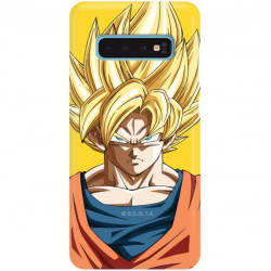 ETUI SMOOTH DRAGON BALL NA TELEFON SAMSUNG GALAXY S10 DBZ-14