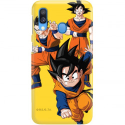 ETUI SMOOTH DRAGON BALL NA TELEFON SAMSUNG GALAXY A40 DBZ-16