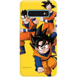 ETUI SMOOTH DRAGON BALL NA TELEFON SAMSUNG GALAXY S10 DBZ-16