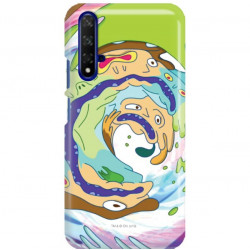 ETUI NA TELEFON HUAWEI HONOR 20 RICK I MORTY RIM70