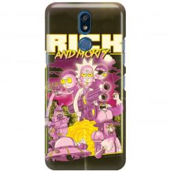 ETUI NA TELEFON LG K40 RICK I MORTY RIM28