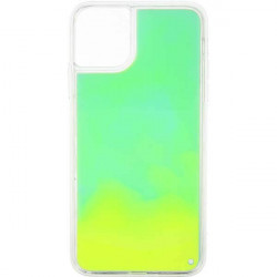 ETUI LIQUID NEON NA TELEFON APPLE IPHONE 11 PRO MAX ZIELONY