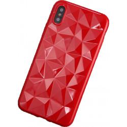 ETUI GEOMETRIC NA TELEFON APPLE iPhone 6 / 6S CZERWONY