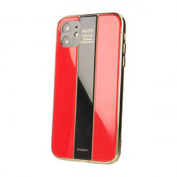 ETUI GLASS NA TELEFON APPLE IPHONE 11 CZERWONY