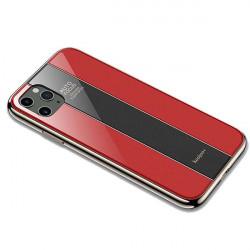 ETUI GLASS NA TELEFON APPLE IPHONE 11 PRO MAX CZERWONY