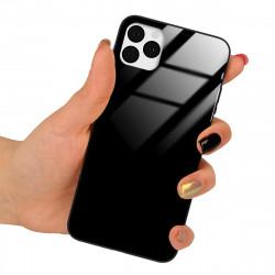 ETUI BLACK CASE GLASS NA TELEFON HUAWEI MATE 20 CZARNY