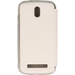 FLIP S-CASE ETUI NA TELEFON HTC DESIRE 500 BIAŁY