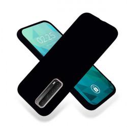 ETUI GUMA SMOOTH NA TELEFON HUAWEI P SMART 2021 CZARNY