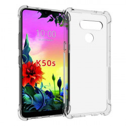 ETUI ANTI-SHOCK NA TELEFON LG K50S TRANSPARENT